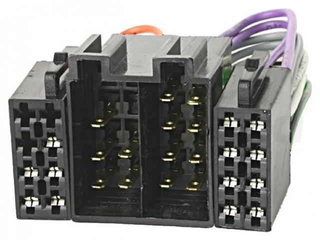 ZRS-ISO-ISO 4CARMEDIA, ISO zásuvka x2
