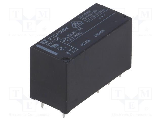 FUJITSU FTR-F1CA005V - Relay: electromagnetic