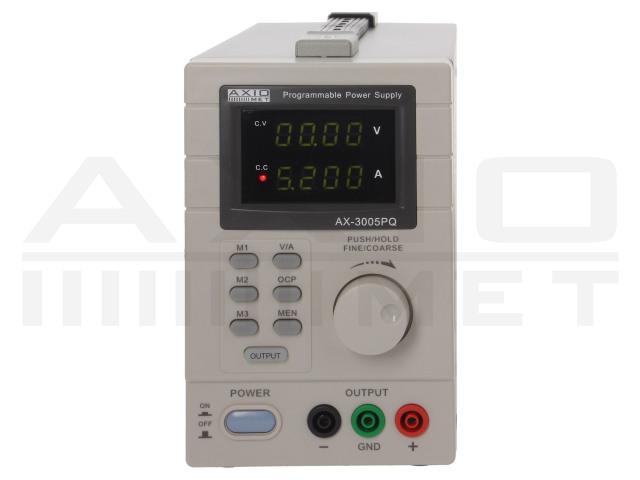 AX-3005PQ AXIOMET, Napájací zdroj