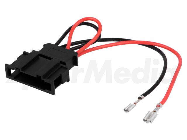 ZRS-AG-13 4CARMEDIA, Adapter voor luidsprekerconnector