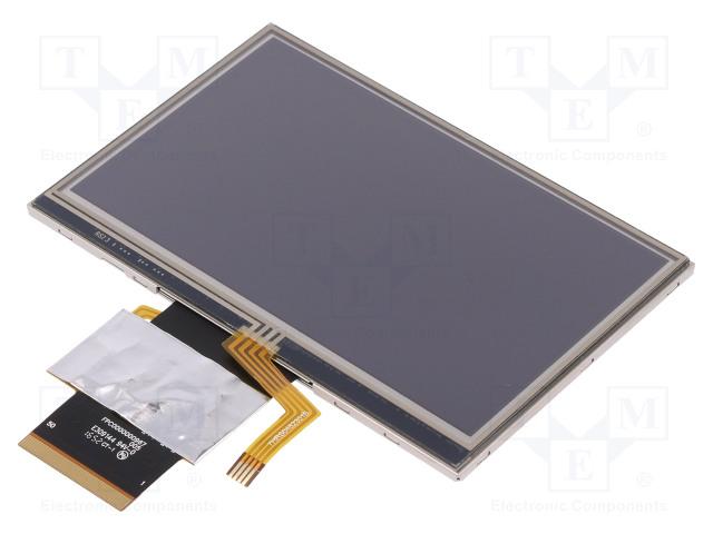 POWERTIP PH480272T009-IHB - Display: TFT