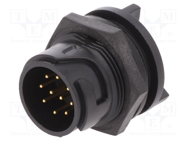 BULGIN PXP4013/10P/PC - Connector: circular