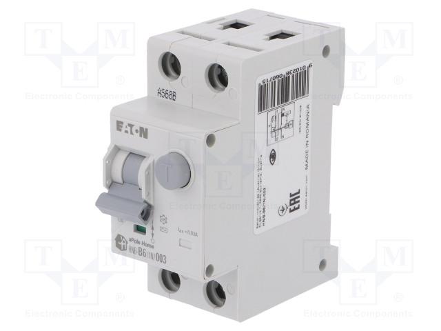 EATON ELECTRIC HNB-B6/1N/003 - RCBO breaker
