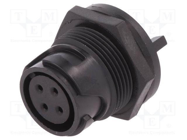 BULGIN PXP4013/04S - Connector: circular