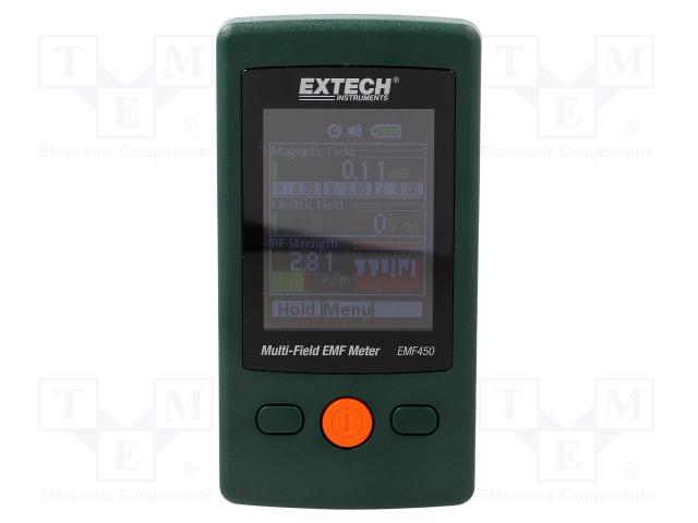 EXTECH EMF450 - Aparat de măsurare a intensităţii câmpului electromagnetic