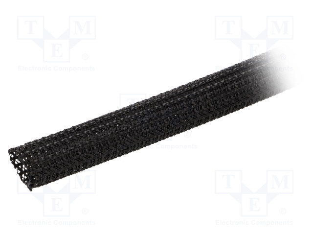 ALPHA WIRE GRP1301/2 BLACK 50 FT - Polyester conduit