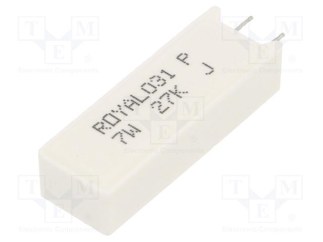 ROYAL OHM PRM07WJP273B00 - Resistor: wire-wound