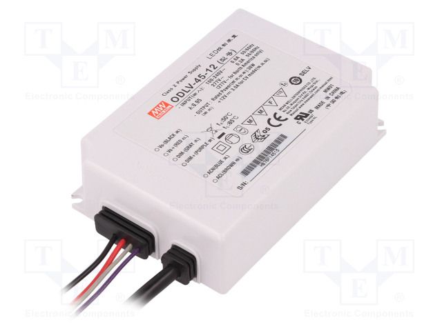 MEAN WELL ODLV-45-12 - Power supply: switched-mode