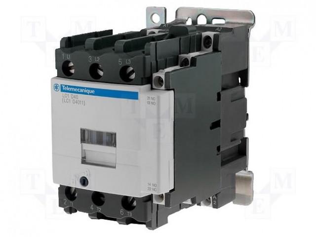 LC1D40004P7 SCHNEIDER ELECTRIC - Contactor: 4-pole | TME