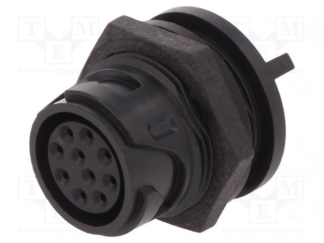 BULGIN PXP4013/10S/PC - Connector: circular