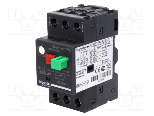 SCHNEIDER ELECTRIC GZ1E14 - Motorový jistič