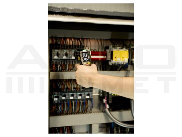 AX-7600 AXIOMET, Pirometro