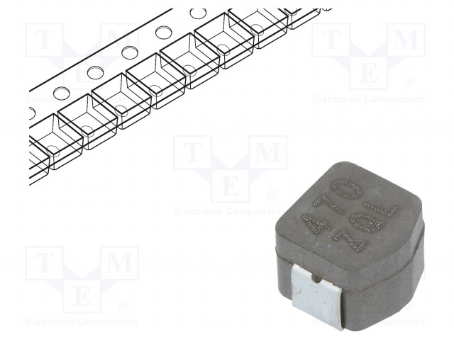 KEMET MPLCV0654L470 - Inductor: wire