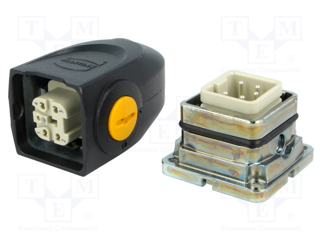HARTING 87082101431 - Connector: HAN