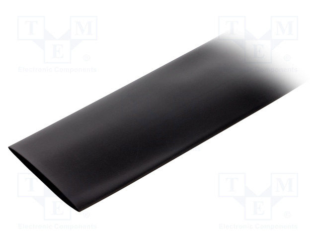 ALPHA WIRE FIT22111/2 BLACK 5X6 IN - Heat shrink sleeve