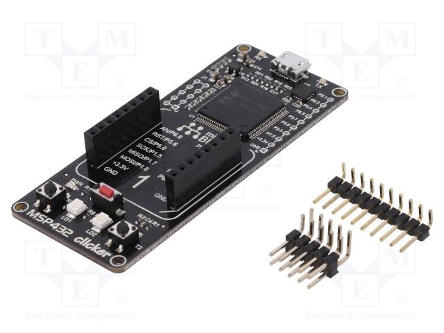 MIKROELEKTRONIKA MSP432 CLICKER - Výv.kit: ARM Texas