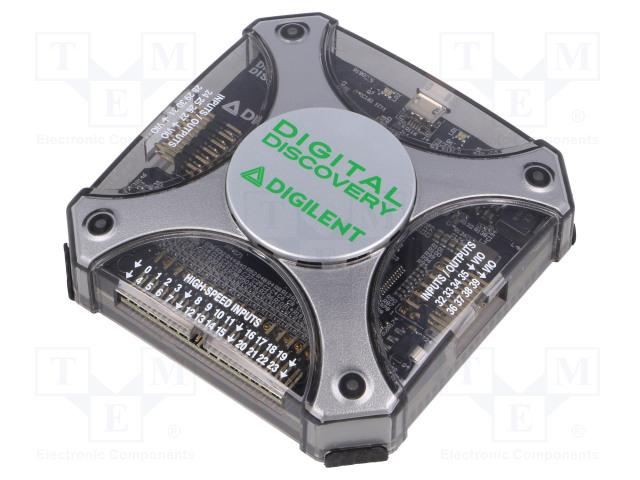 DIGILENT DIGITAL DISCOVERY - Osciloskop pripojený k PC