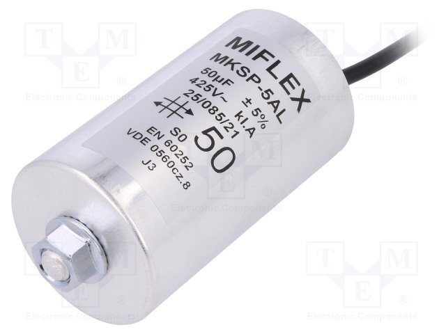 MIFLEX 1150VGS0J-DAL - Kondenzátor: pro motory, pracovní