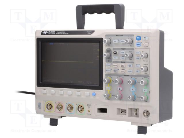 Осциллоскопы Осциллограф: цифровой; Частота: ≤200МГц; Каналы: 4; 140Мвыб./канал Фото 1.
