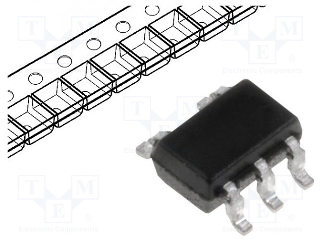 TEXAS INSTRUMENTS SN74LVC1G125DCKR - IC: digital