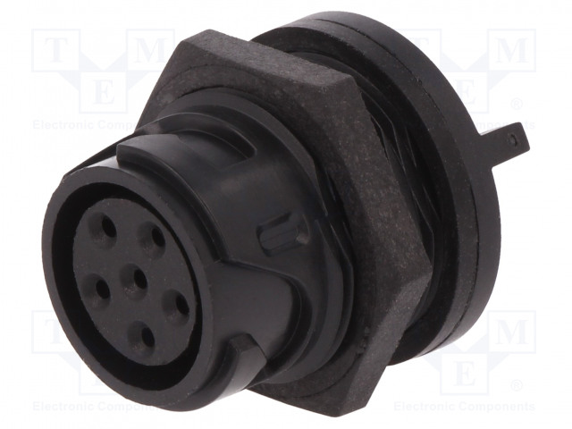 BULGIN PXP4013/06S - Connector: circular