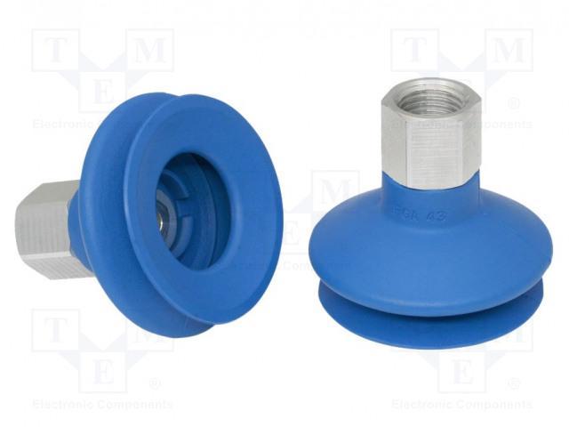 SCHMALZ FSGA-43-HT1-60-G1/4-IG - Suction cup
