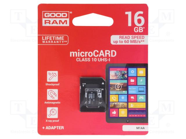 GOODRAM M1AA-0160R11 - Memory card