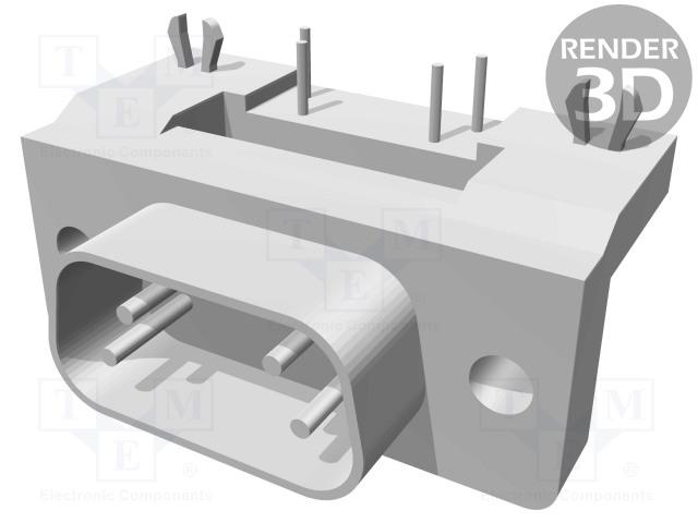 Swell 09651626811 Harting D Sub Pin 9 Socket Male With Inzonedesignstudio Interior Chair Design Inzonedesignstudiocom
