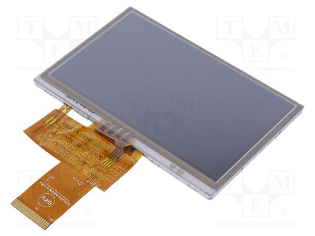 RAYSTAR OPTRONICS RFE430Y-AIW-DNS - Display: TFT