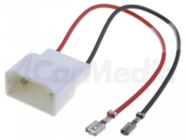 ZRS-AG-20 4CARMEDIA, Adapter voor luidsprekerconnector