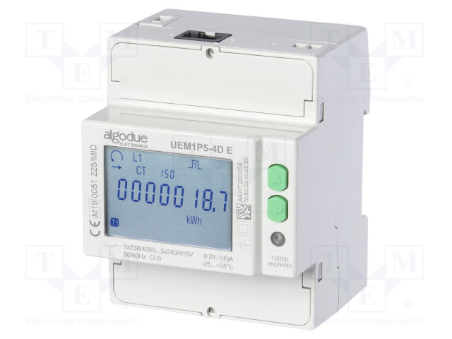 ALGODUE 1101.0010.0001 - Licznik energii elektrycznej