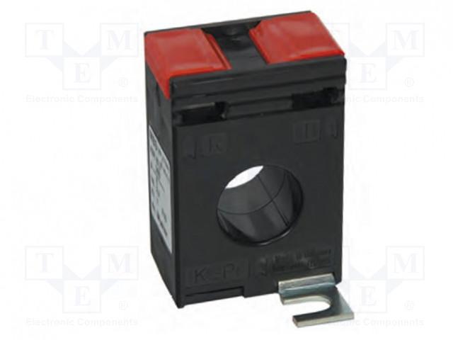 Линзы и увеличительные стекла Трансформатор тока; Серия: ASR 20.3; I AC: 100А; 1,5ВА; 65x44x30мм Фото 1.