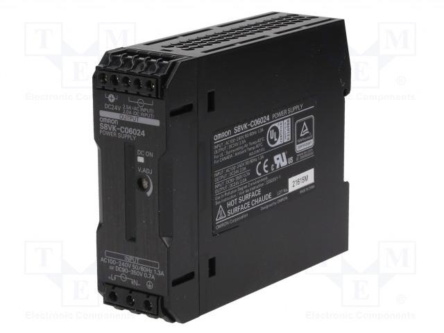 OMRON S8VK-C06024 - Napájecí zdroj: spínaný