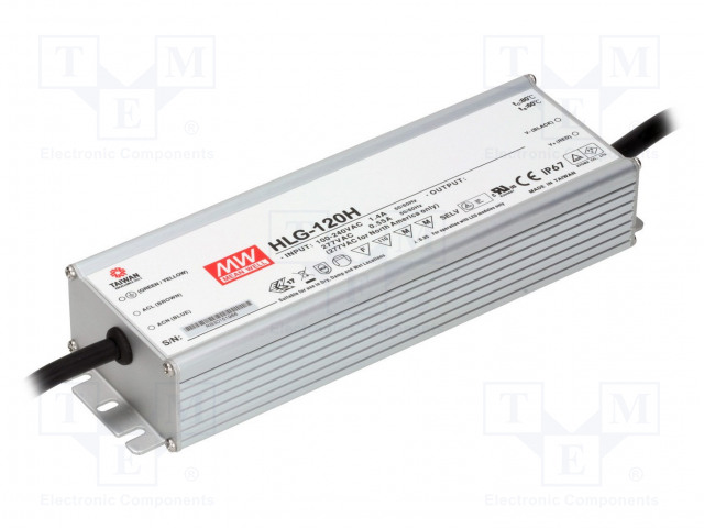MEAN WELL HLG-120H-54 - Power supply: switched-mode