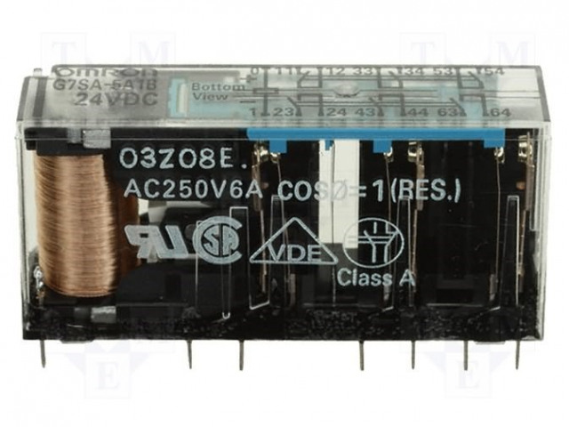 G7S-3A3B 24VDC OMRON - Relay: electromagnetic G7S-3A3B/24VDC ... on