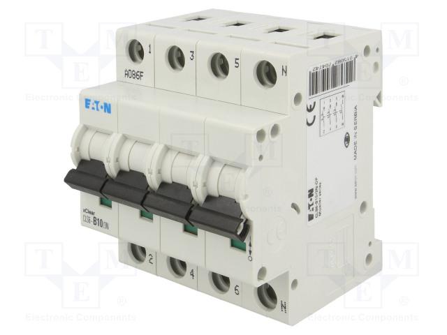 EATON ELECTRIC CLS6-B10/3N - Întrerupător de supracurent