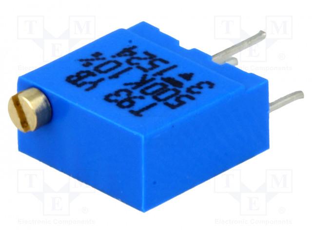 VISHAY T93YB504KT20 - Potenciometr: montážní