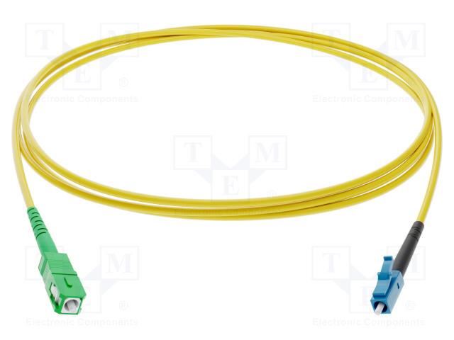 FIBRAIN G-SCA-LC-S-001.0-DX-D-18-Y - Fiber patch cord
