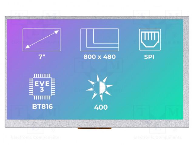 Riverdi RVT70AQBNWN00 - Display: TFT