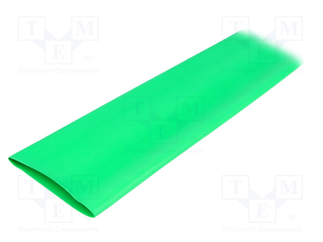 ALPHA WIRE FIT2212IN GREEN 5X4 FT - Heat shrink sleeve
