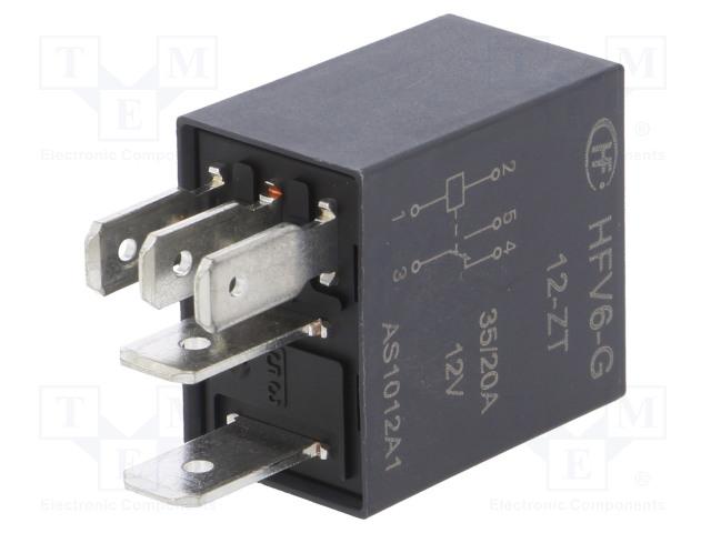 HONGFA RELAY HFV6-G/12-ZT - Relé: elektromagnetické