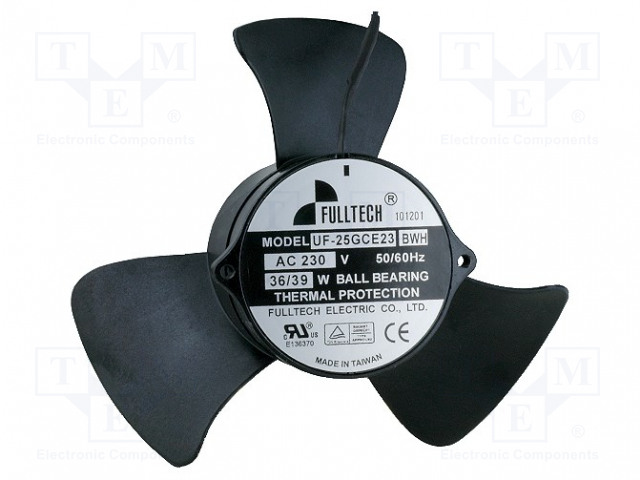 FULLTECH UF25GCE23BWH - Ventilátor: AC