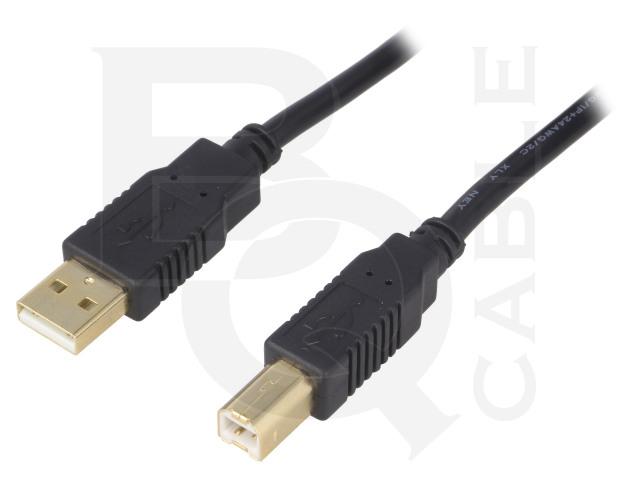 CAB-USBAB/1.8G-BK BQ CABLE, Kabel