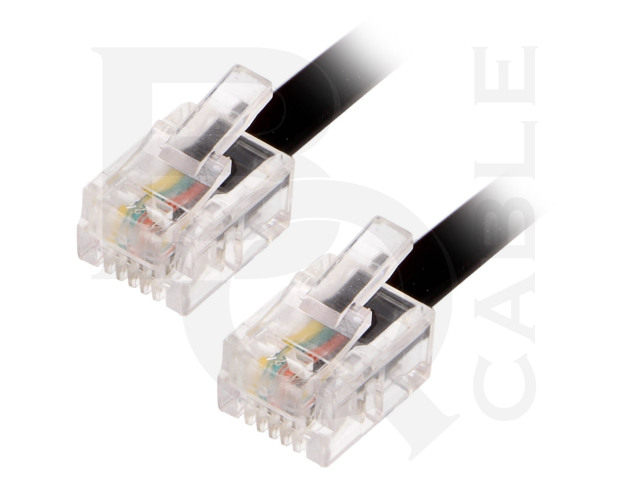 TEL-RJ11-BK/05 BQ CABLE, Cable