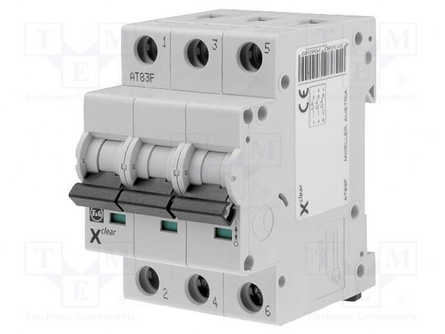EATON ELECTRIC CLS6-B10/3 - Întrerupător de supracurent