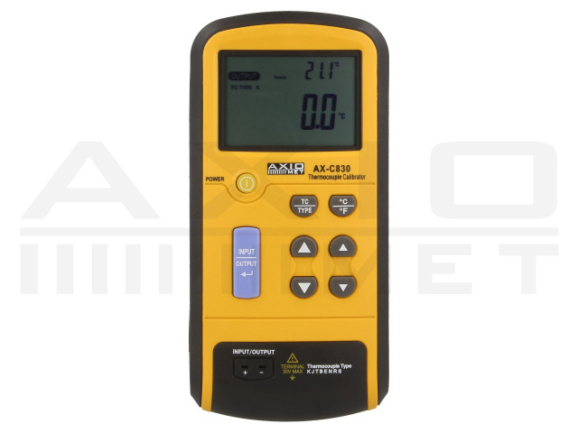 AX-C830 AXIOMET, Thermocouple calibrator