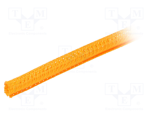 ALPHA WIRE GRP1301/4 ORANGE 50 FT - Polyester conduit