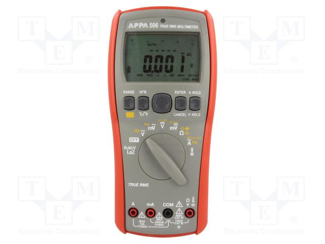 APPA APPA 506 - Digital multimeter