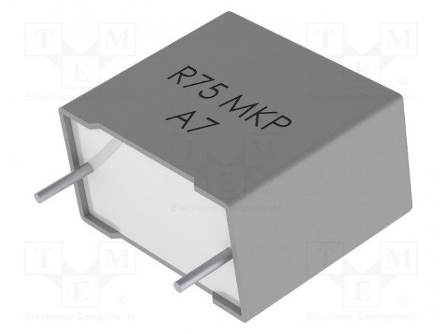 KEMET R75LR41504000K - Kondenzátor: polypropylénový