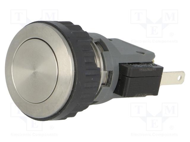 SCHURTER 1241.6611.1120000 - Switch: vandal resistant